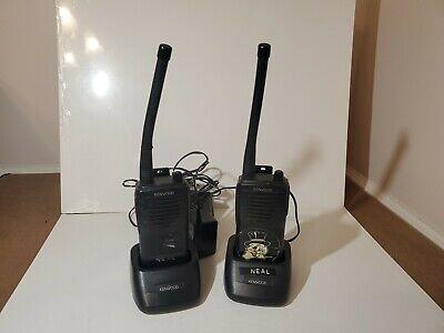 Kenwood Tk-2100 Vhf Fm Transceiver Portable Radios Lot Of 2