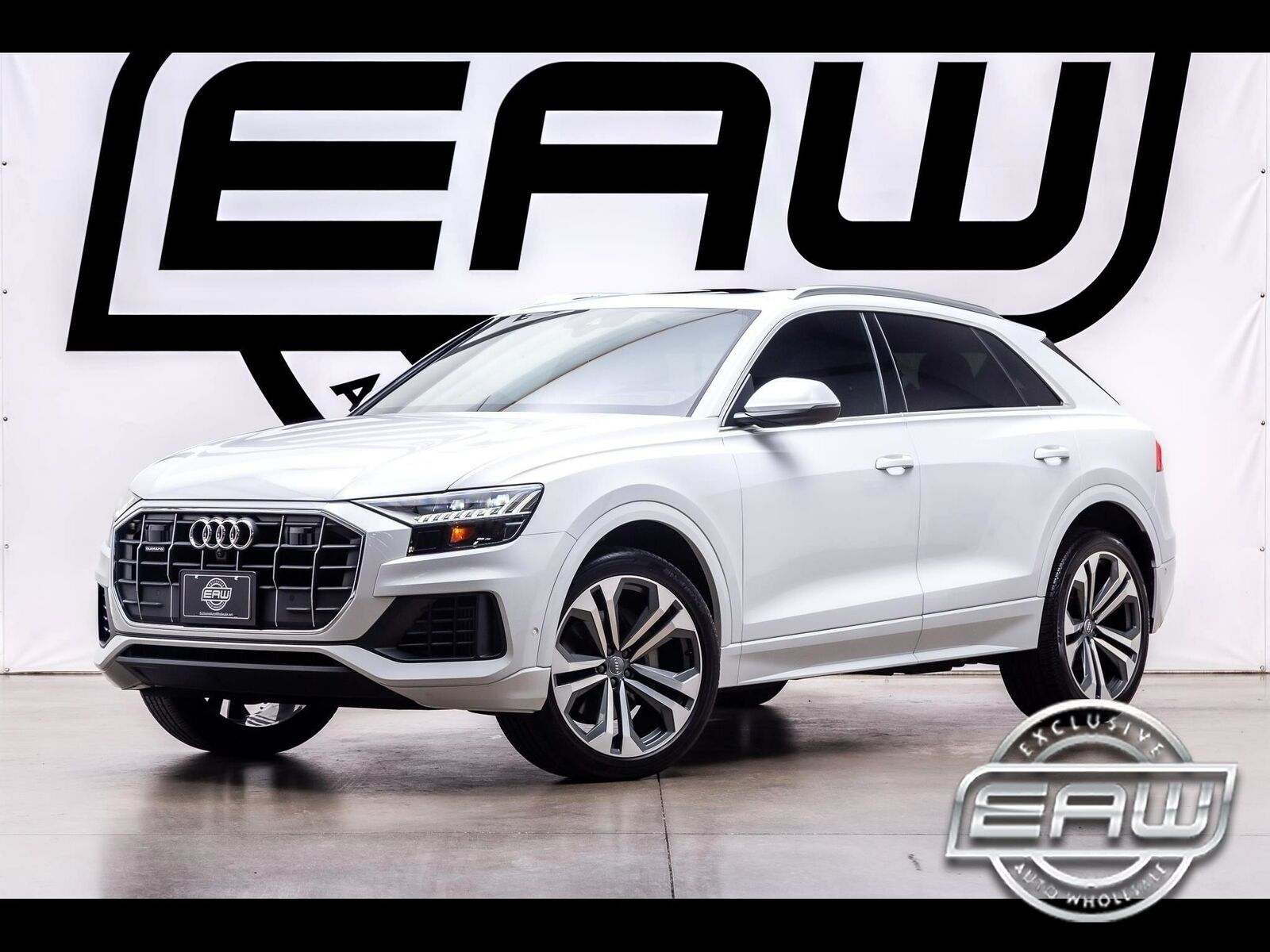 2019 Audi Q8 PRESTIGE 15135 Miles White SUV 3.0L V6 TURBO Automatic