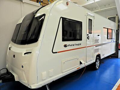 New Caravan Sale 2020 Bailey Panther 644 Transverse Island Fixed Bed