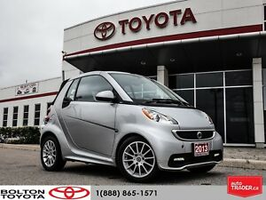 2013 smart fortwo Passio| ACCIDENT FREE|CONVERTIBLE