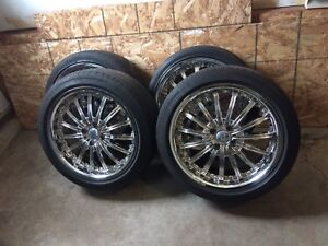 4 summer tires with mag 215/45/17 (4x100)