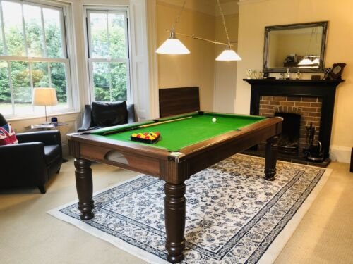 7ft pool table dining table