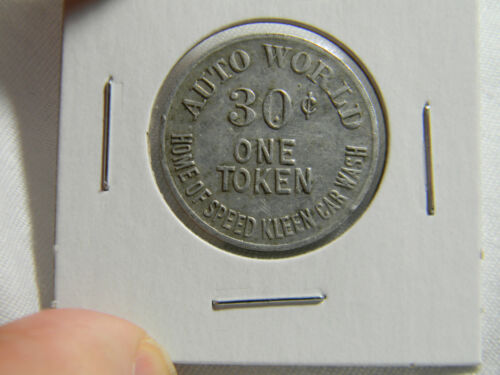 USA Auto World car wash Token   (0208)