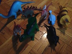 Dinosaur and animal toys