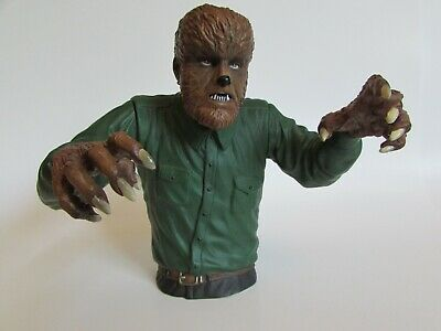 Universal Monsters Colorized The Wolfman Bust Bank (Diamond Select)