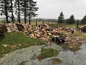 Cords of  seasoned firewood for sale