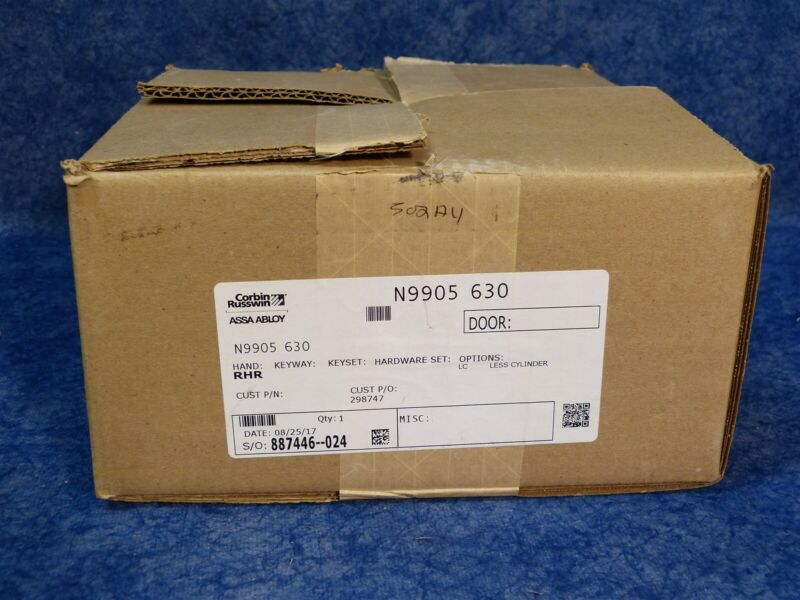Corbin Russwin N9905 630 Electrically Controlled Lever for ED5000 Exit Device