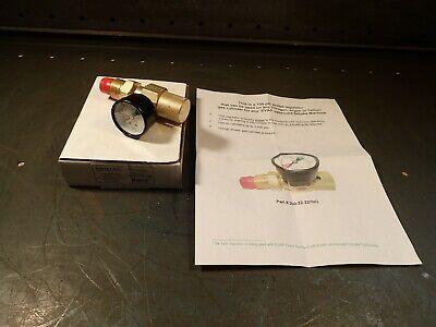 Genstar Gentec 22-227ng-100 Pre-set Nitrogen Argon Gas Flow Regulator 100-psi
