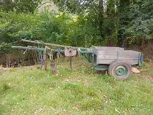 Horse drawn Orchard cart 100 years old (plus harness) Niagara Park Gosford Area Preview