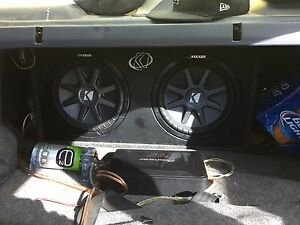 """12"""" kicker comp subs mint condition"""