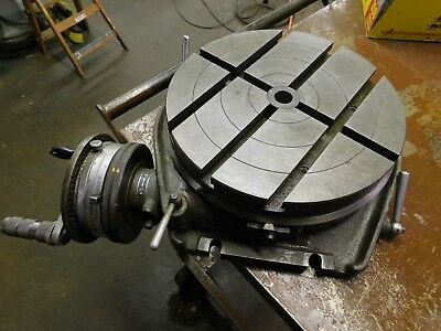 Walter 12.5 Rotary Table Model With Indexing Dividing Attachment Rt320t