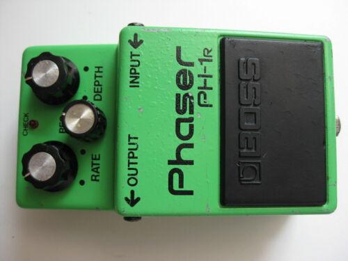 Vintage Boss PH-1r Phaser Guitar Effect Pedal Silver Screw