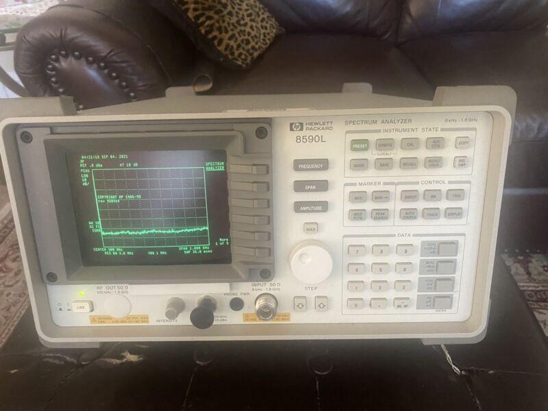 HP Agilent 8590L Spectrum Analyzer