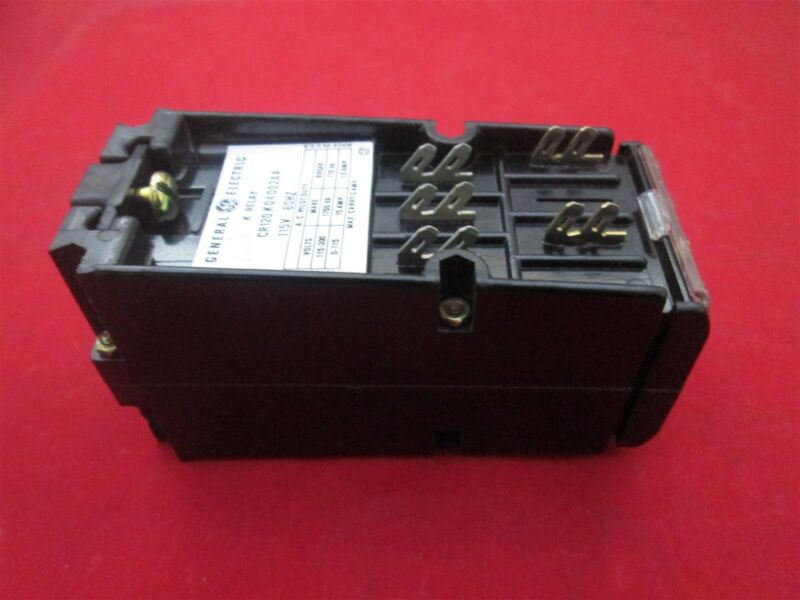GE General Electric Relay CR120K04002AA new
