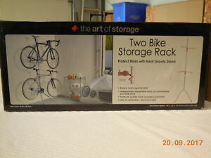 Two Bike Storage Rack