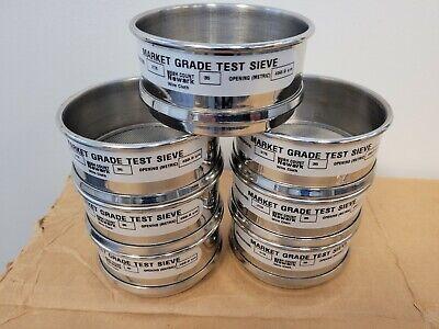 Lot Of 7 Superla Sieve Market Grade 450um Test Sieves