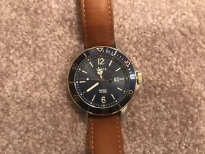 Timex Harborside 42mm Mens Watch with box and paper