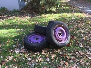 16' winter tires for sale w/ Steele Rims