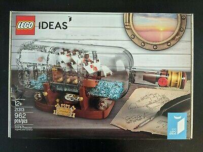 LEGO 21313 Ideas Ship in a Bottle - Brand New