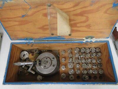 Cam Micrometer Set In Case - .0001 - Scherr Tumico Mic Head Accessories