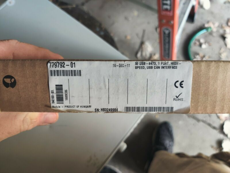 National Instruments USB-8473 USB 1-Port High-Speed CAN Device