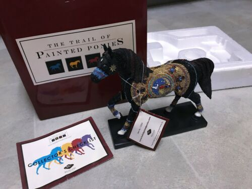 2007 Westland Giftware Trail of the Painted Ponies - NAVAJO BLACK BEAUTY