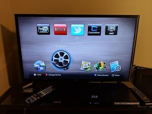 Samsung Blue-ray DVD Player  and DVDs collection