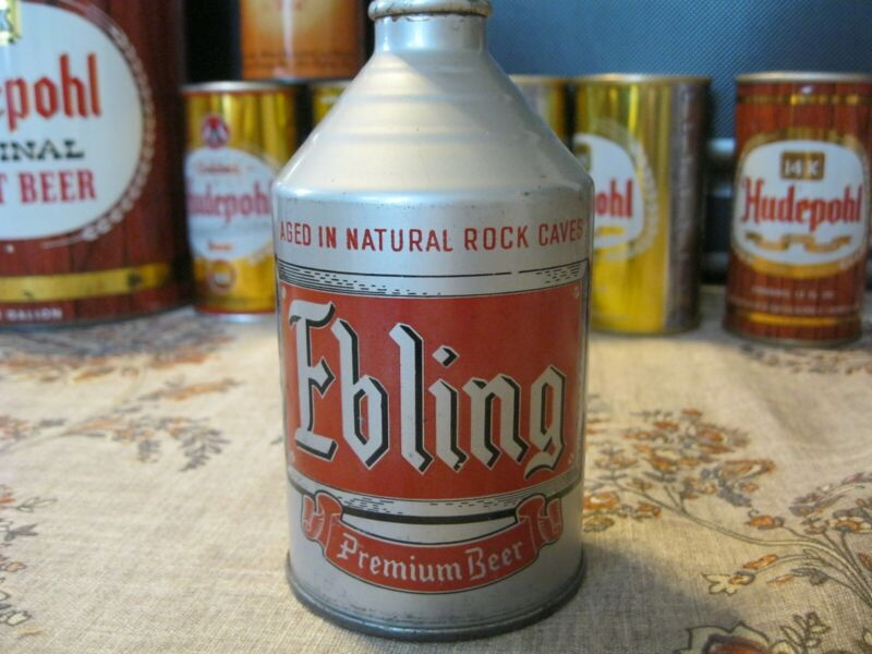 Ebling premium beer Crowntainer display very nice