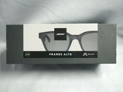 ⭐NEW-Sealed!⭐ Bose 840667-0100 Frames Alto Audio Smart Sunglasses Black (S/M)