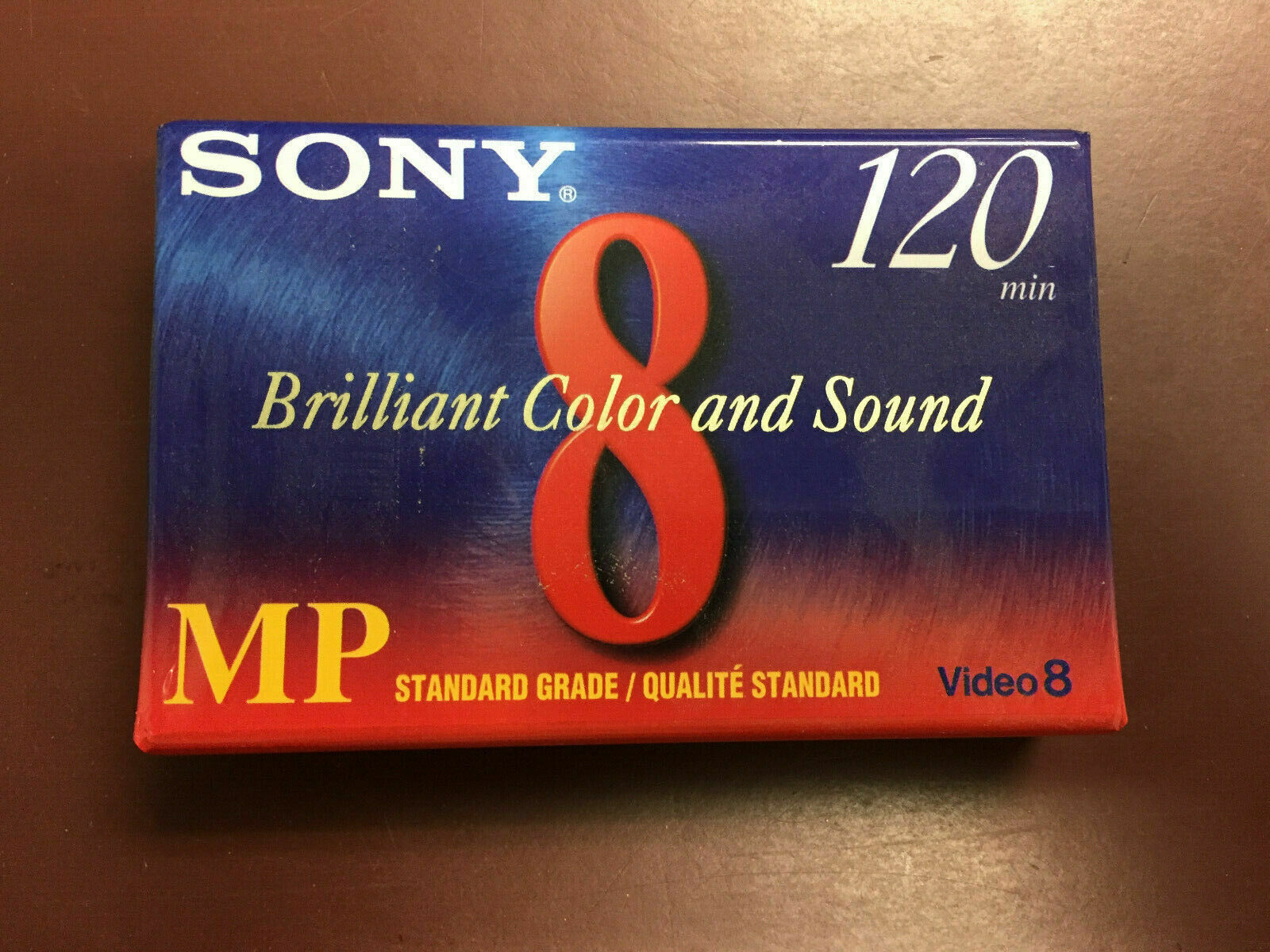 Sony 8mm Camcorder Video Cassette Tape 120 Min Video 8 P6-120MP USA NEW - $6.99