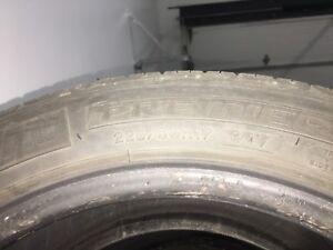 (4)Michelin  Premier 225/50R17 été 8/32
