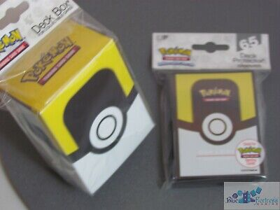 POKEMON TCG ULTRA PRO ULTRA BALL DECK PROTECTOR CARD SLEEVES AND DECK BOX