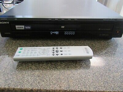 Sony DVP-NC85H CD DVD 5 Disc Changer Player HDMI Includes Remote & AV Cables covid 19 (Sony 5 Disc Dvd Player coronavirus)