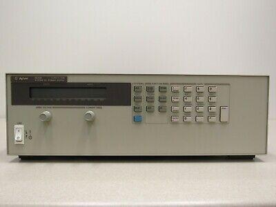 Hp Agilent 6672a 2000 Watt System Power Supply 20v 100a