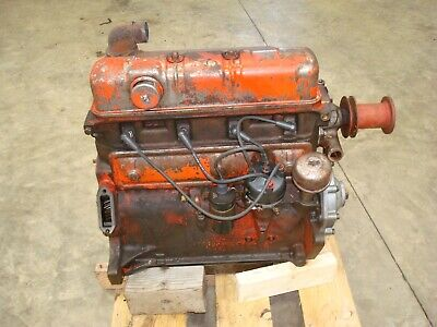 1959 Ford 871 Tractor Running Engine 800