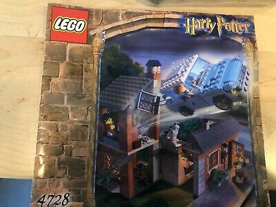 Lego Harry Potter Chamber of Secrets Escape from Privet Drive (4728) rare 2003