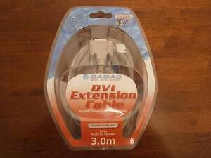 Cabac - 3m DVI Extension Cable - Brand new Benowa Gold Coast City Preview