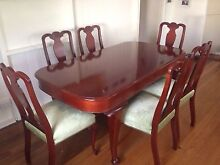 Cedar Dining Table & matching 6 chairs - Bell Brothers Taringa Brisbane South West Preview