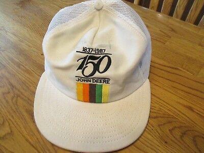 John Deere Promotional Collectors Cap - 150 Years 1837-1987 Anniversary