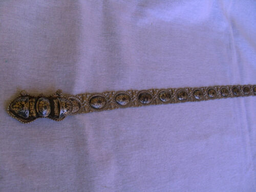 Antique silver nello BELT