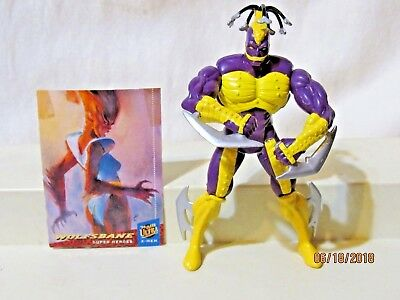 1994 Marvel Xmen Killspree Figure With Blade Arms Card