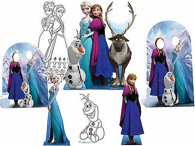 Disney Frozen Lifesize CARDBOARD CUTOUTS & STAND-INS standee standup Party Xmas