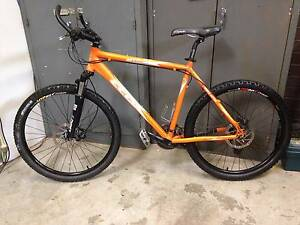 "CELL MTX-R2 21"" Mountain Bike Fluro Orange/black hydraul brakes! Strathfield Strathfield Area Preview"