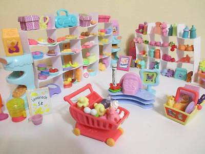 Littlest Pet Shop Lot of 12 Random Surprise Grocery Shopping Food Accessories