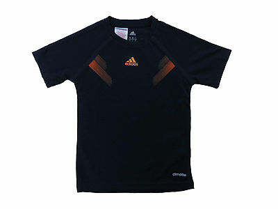 Climalite Performance T-shirt (Adidas PERFORMANCE Kinder Jungen Sportshirt T-Shirt TEE CLIMALITE Dunkelblau NEU)