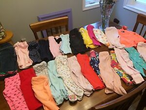 Almost 200 items! Baby's clothes mostly 3-9 months.