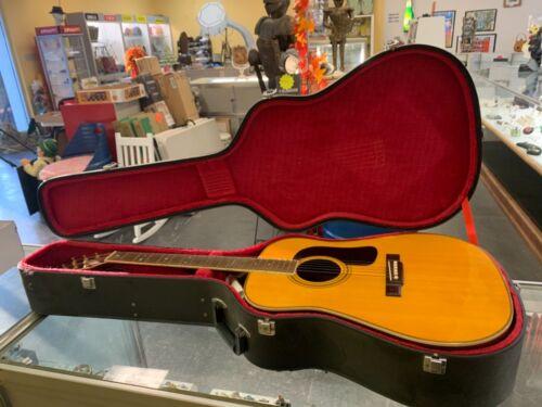 1984 Washburn D28S Acoustic Guitar w/ Hard Case