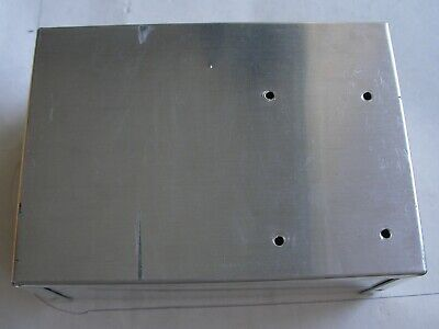 Used Good Aluminum Electronics Enclosure Project Box Case Metal 7x5x3 Inches