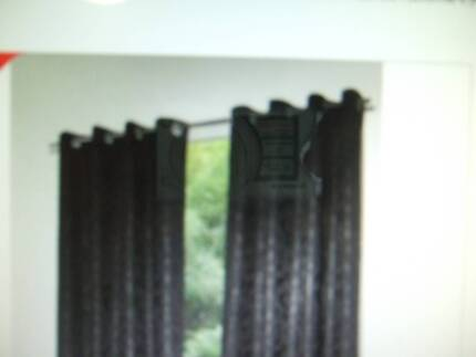 CURTAIN RODS, BRUSHED ALUMINIUM ,1 X 200 CM , 2 X150 CM Caboolture Caboolture Area Preview