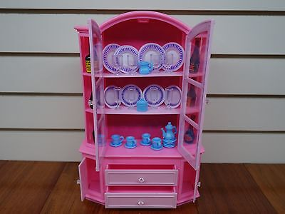 Gloria Buffet & Hutch , China set (9511) Play Set for Doll House furniture